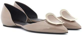 Roger Vivier Dorsay Sexy Choc patent leather ballerinas
