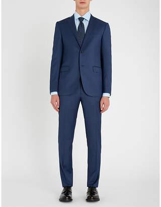 Corneliani Nailhead-patterned academy-fit wool suit