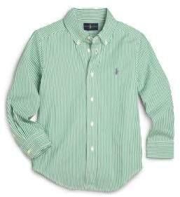 Ralph Lauren Little Boy's Striped Poplin Dress Shirt