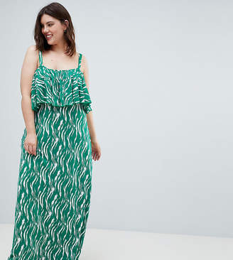 Junarose Printed Maxi Dress