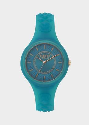 Versus Fire Island Teal Dial Watch