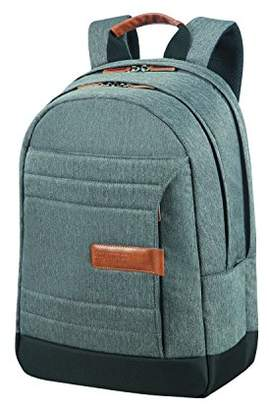 "American Tourister Sonicsurfer - Laptop Backpack 15.6"" Casual Daypack, 44 cm, 24.5 liters, Grey (Herringbone)"