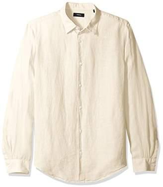 Theory Men's Irving Summer Linen Shirting
