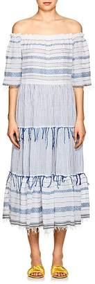 Lemlem Women's Tiki Striped Cotton Maxi Dress