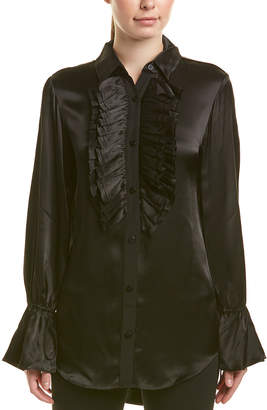 Divine heritage Ruffle Blouse