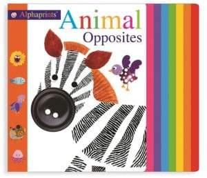 Macmillan Alphaprints Animal Opposites Board Book