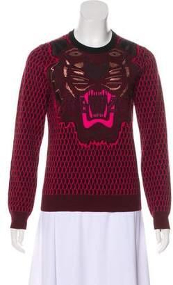 Kenzo Embroidered Wool Sweatshirt