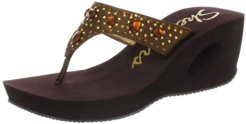 Skechers Women's Key Holes Wedge Sandal