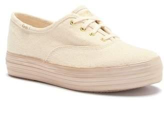 Keds Triple Shimmer Platform Sneaker