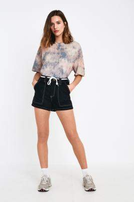 BDG Black Skate Shorts - black XS at Urban Outfitters