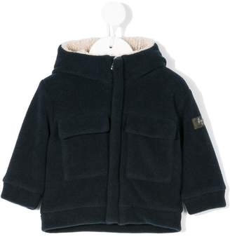Il Gufo patch pockets hooded jacket