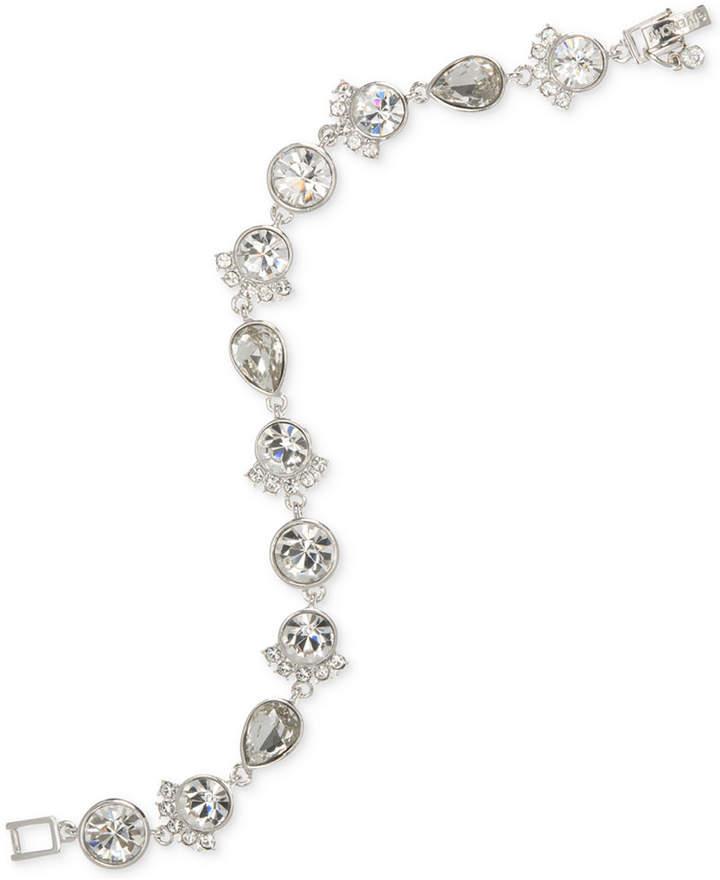 GivenchyGivenchy Silver-Tone Crystal Flex Bracelet
