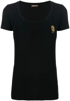 Roberto Cavalli scoop neck T-shirt