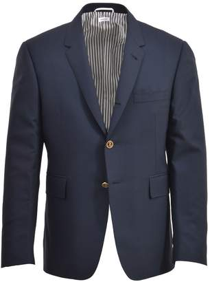 Thom Browne Blue Navy Blazer