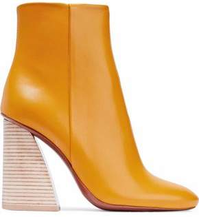 Mercedes Benz Castillo Leather Ankle Boots