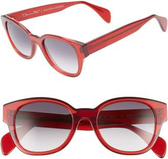 Morgenthal Frederics ODLR X Sabrina 50mm Cat Eye Sunglasses