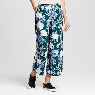 Merona Women's Merona Printed Wide Leg Pant $27.99 thestylecure.com