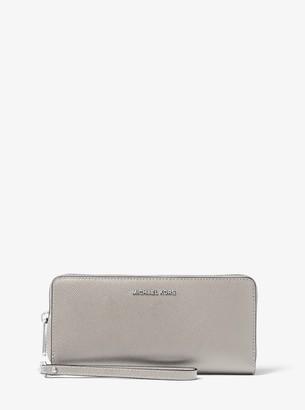 MICHAEL Michael Kors Jet Set Travel Saffiano Leather Continental Wallet