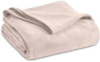 Vellux Brushed Microfleece Twin Blanket Bedding