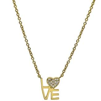 Love Squared JEN HANSEN Necklace White - Gold