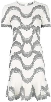 Alexander McQueen embellished A-line dress