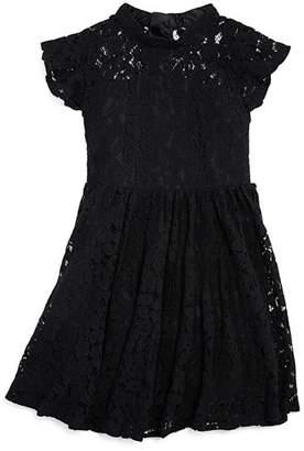 Bardot Junior Girls' Katanna Lace Flutter-Sleeve Dress - Big Kid