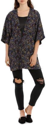 Miss Shop Ditsy Floral Kimono