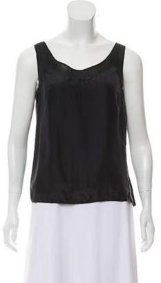 Valentino Sleeveless Silk Top