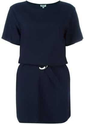 Kenzo belted T-shirt dress