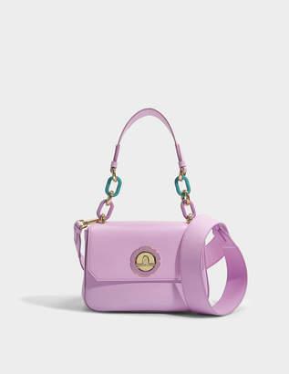Salvatore Ferragamo Lexi Bag in Dark Pink Goatskin