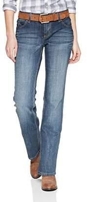 Wrangler Women's Mid Rise Boot Cut Jean