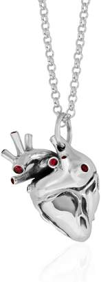 Rubie's Costume Co Strange Fruit - Heart Pendant Silver with