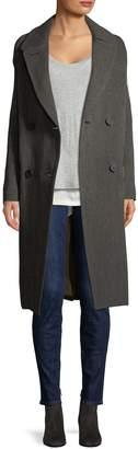 Vince Women's Herringbone Wool Coat
