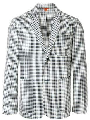Barena checkered pattern blazer
