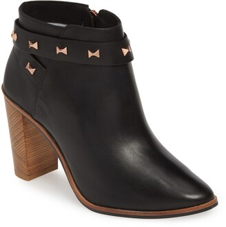 8dc9f1404ac Ted Baker Black Women's Boots - ShopStyle