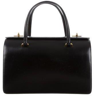 pradaPrada Box Calf Bicolor Handle Bag