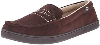 Isotoner Men's Microsuede Moc Thinsulate Flat