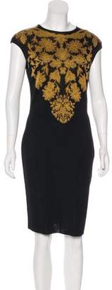 Alexander McQueen Knit Knee-Length Dress
