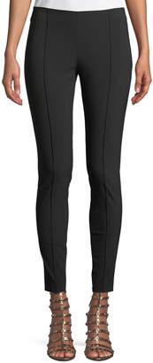 Valentino Wool-Stretch Side-Zip Skinny Pants