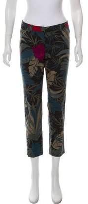 Max Mara Weekend Printed Straight-Leg Pants