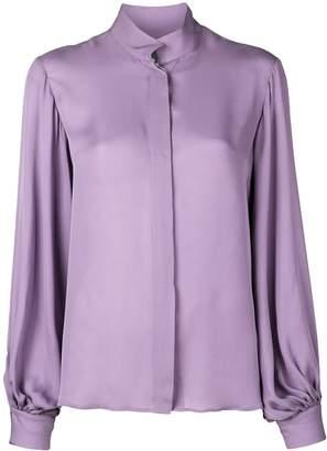 Nili Lotan wide sleeve blouse