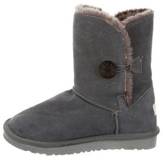 UGG Australia Bailey Button Ankle Boots $90 thestylecure.com