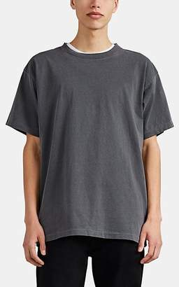 John Elliott Men's Oversized Washed Cotton T-Shirt - Black