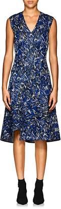 Derek Lam Women's Abstract Cotton-Blend Jacquard A-Line Dress