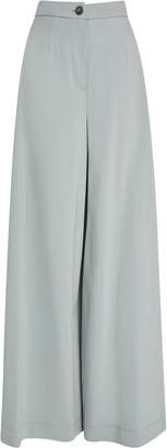 Tome Wide Leg Cotton Pant