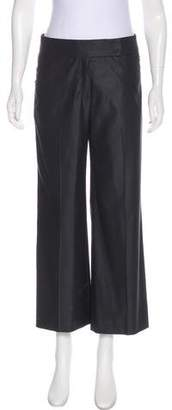 Akris Mid-Rise Wide-Leg Pants