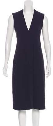 Vince V-neck Sleeveless A-line Dress
