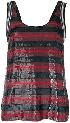 3.1 Phillip Lim stripe embellished vest top