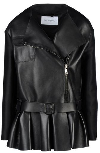 Viktor & Rolf Leather outerwear