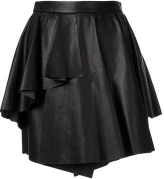 Drome asymmetric layered skirt